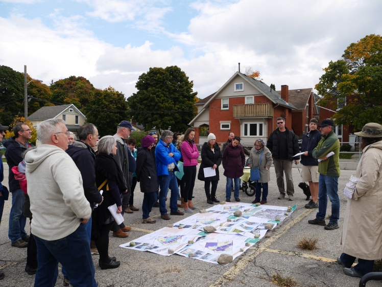 Neighbourhood walk to learn about Midtown PARTS planning process