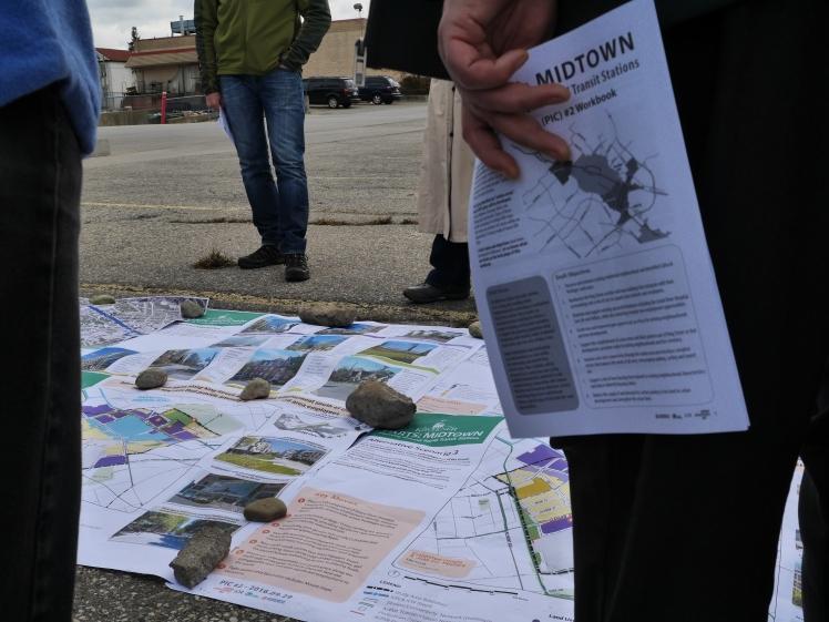 Midtown PARTS maps