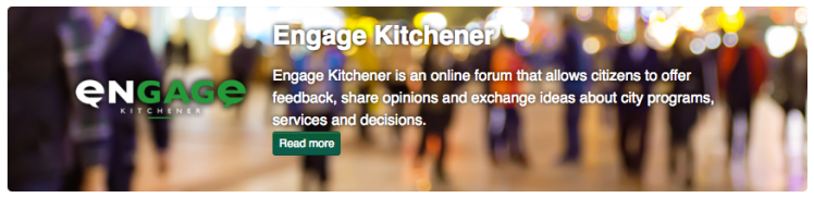Engage Kitchener banner