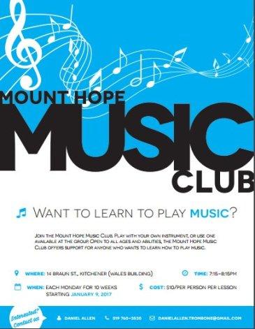 mount hope music club