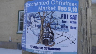 Enchanted Christmas Market was hosted for the first time at the KW Artists Co-op - Photo: Juanita Metzger