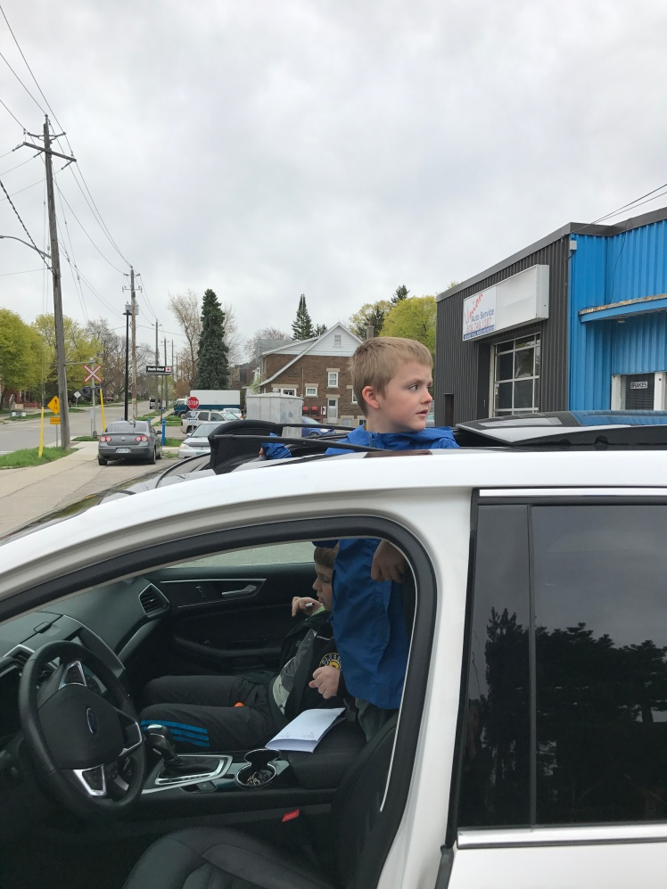 Counting people before school each day: