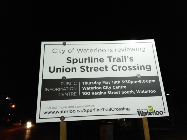 spurline trail union street crossing