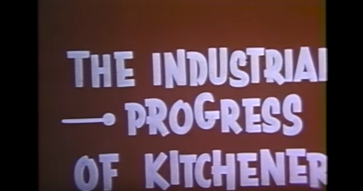 kitchener promotional film 1957