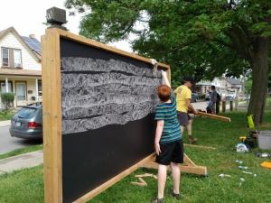 seasoning the chalkboards