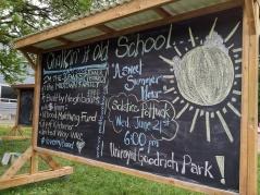 Chalkin' it old school! A new chalkboard in Midtown KW