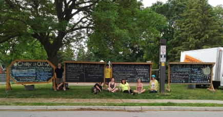 Three more chalkboards for the Midtown KW neighbourhood