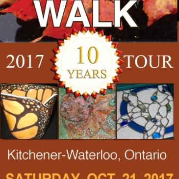 KW Central Art Walk Flyer