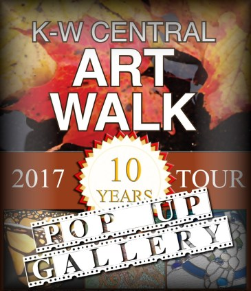 poster for Central Art Walk pop up gallery at Princess Cinemas