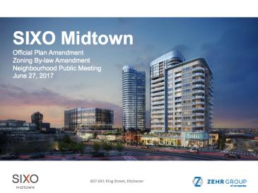 Sixo Midtown powerpoint presentation from June 27 2017