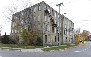 The City of Kitchener has been trying to find a buyer for the former Electohome building on Shanley Street through a tax sale. - Record file photo