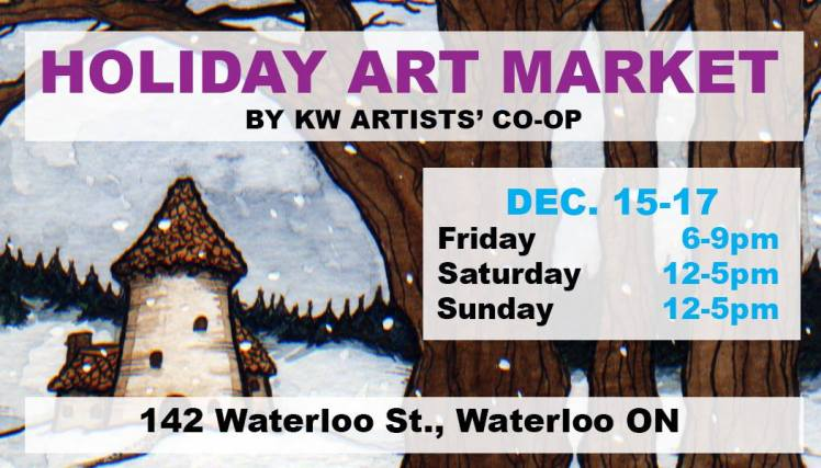 kw artist coop holiday art market