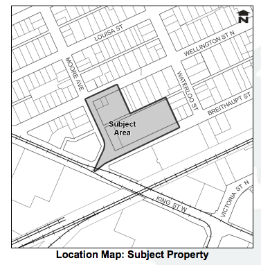 Breithaupt Block Proposed Development at Moore Ave and Breithaupt Street