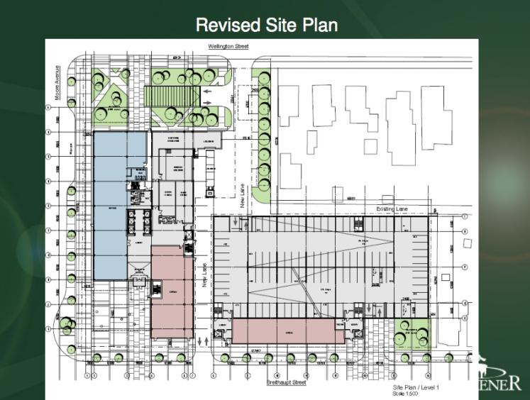 Revised Concept Plan for Breithaupt Block Phase 3 Development