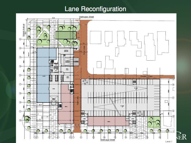 Original Concept Plan for Breithaupt Block Phase 3 Development