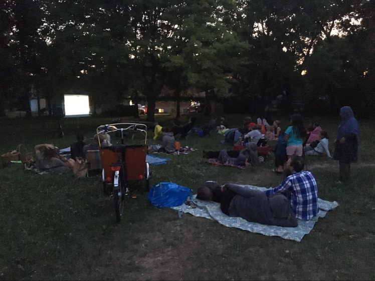 duke st park movie night