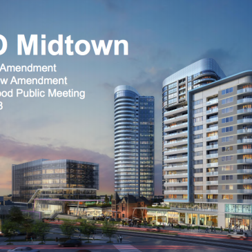 Artist rendering of towers at SIXO Midtown development site