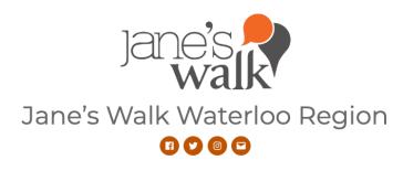 Jane's Walk Waterloo Region